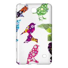 Birds Colorful Floral Funky Samsung Galaxy Tab 4 (8 ) Hardshell Case