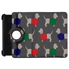 Cute Dachshund Dogs Wearing Jumpers Wallpaper Pattern Background Kindle Fire Hd 7  by Amaryn4rt