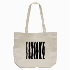 Zebra Background Pattern Tote Bag (cream) by Amaryn4rt