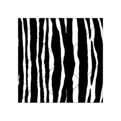 Zebra Background Pattern Acrylic Tangram Puzzle (4  X 4 ) by Amaryn4rt