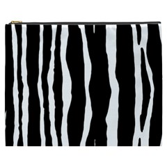 Zebra Background Pattern Cosmetic Bag (xxxl)  by Amaryn4rt