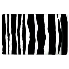 Zebra Background Pattern Apple Ipad 3/4 Flip Case by Amaryn4rt