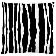 Zebra Background Pattern Standard Flano Cushion Case (two Sides) by Amaryn4rt
