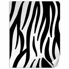 Seamless Zebra A Completely Zebra Skin Background Pattern Canvas 36  X 48   by Amaryn4rt