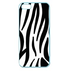 Seamless Zebra A Completely Zebra Skin Background Pattern Apple Seamless Iphone 5 Case (color) by Amaryn4rt