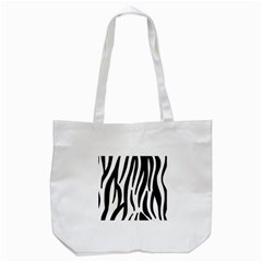 Seamless Zebra A Completely Zebra Skin Background Pattern Tote Bag (white) by Amaryn4rt