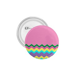 Easter Chevron Pattern Stripes 1 75  Buttons by Amaryn4rt