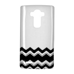 Chevrons Black Pattern Background Lg G4 Hardshell Case by Amaryn4rt