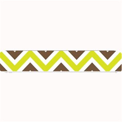 Chevrons Stripes Colors Background Small Bar Mats by Amaryn4rt