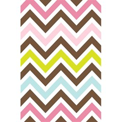 Chevrons Stripes Colors Background 5 5  X 8 5  Notebooks by Amaryn4rt