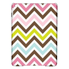 Chevrons Stripes Colors Background Ipad Air Hardshell Cases by Amaryn4rt