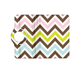 Chevrons Stripes Colors Background Kindle Fire Hd (2013) Flip 360 Case by Amaryn4rt