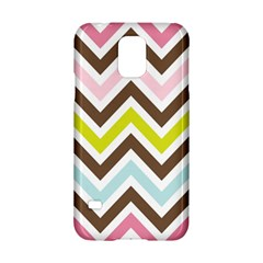 Chevrons Stripes Colors Background Samsung Galaxy S5 Hardshell Case  by Amaryn4rt