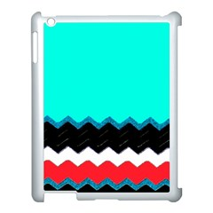 Pattern Digital Painting Lines Art Apple Ipad 3/4 Case (white) by Amaryn4rt