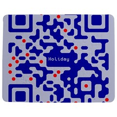 Digital Computer Graphic Qr Code Is Encrypted With The Inscription Jigsaw Puzzle Photo Stand (rectangular) by Amaryn4rt