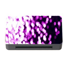 Bokeh Background In Purple Color Memory Card Reader With Cf by Amaryn4rt