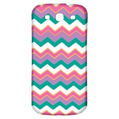 Chevron Pattern Colorful Art Samsung Galaxy S3 S Iii Classic Hardshell Back Case by Amaryn4rt