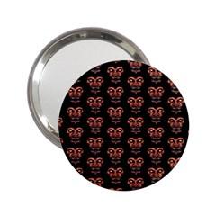 Dark Conversational Pattern 2 25  Handbag Mirrors by dflcprints