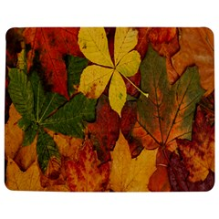 Colorful Autumn Leaves Leaf Background Jigsaw Puzzle Photo Stand (rectangular) by Amaryn4rt