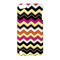 Colorful Chevron Pattern Stripes Apple Ipod Touch 5 Hardshell Case