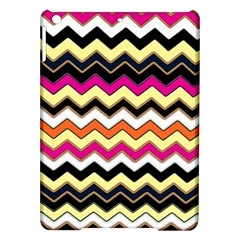 Colorful Chevron Pattern Stripes Ipad Air Hardshell Cases by Amaryn4rt