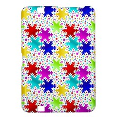 Snowflake Pattern Repeated Kindle Fire Hd 8 9  by Amaryn4rt