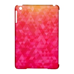 Abstract Red Octagon Polygonal Texture Apple Ipad Mini Hardshell Case (compatible With Smart Cover) by TastefulDesigns