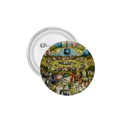 Hieronymus Bosch Garden Of Earthly Delights 1 75  Buttons by MasterpiecesOfArt