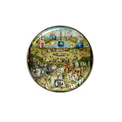 Hieronymus Bosch Garden Of Earthly Delights Hat Clip Ball Marker (4 Pack) by MasterpiecesOfArt