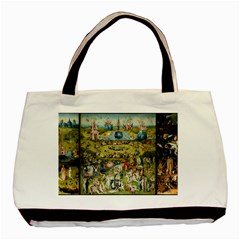 Hieronymus Bosch Garden Of Earthly Delights Basic Tote Bag (two Sides) by MasterpiecesOfArt