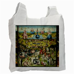 Hieronymus Bosch Garden Of Earthly Delights Recycle Bag (two Side)  by MasterpiecesOfArt