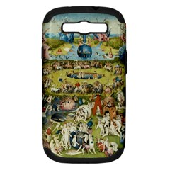 Hieronymus Bosch Garden Of Earthly Delights Samsung Galaxy S Iii Hardshell Case (pc+silicone) by MasterpiecesOfArt