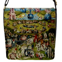 Hieronymus Bosch Garden Of Earthly Delights Flap Messenger Bag (s) by MasterpiecesOfArt
