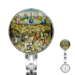 Hieronymus Bosch Garden Of Earthly Delights Stainless Steel Nurses Watch by MasterpiecesOfArt
