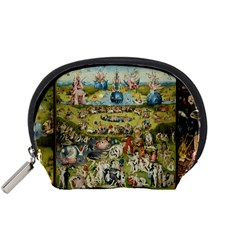Hieronymus Bosch Garden Of Earthly Delights Accessory Pouches (small)  by MasterpiecesOfArt
