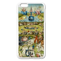 Hieronymus Bosch Garden Of Earthly Delights Apple Iphone 6 Plus/6s Plus Enamel White Case by MasterpiecesOfArt