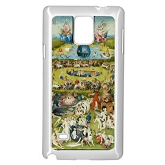 Hieronymus Bosch Garden Of Earthly Delights Samsung Galaxy Note 4 Case (white) by MasterpiecesOfArt