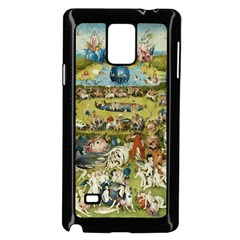 Hieronymus Bosch Garden Of Earthly Delights Samsung Galaxy Note 4 Case (black) by MasterpiecesOfArt