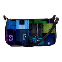 Door Number Pattern Shoulder Clutch Bags by Amaryn4rt