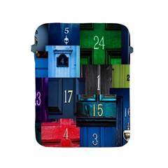 Door Number Pattern Apple Ipad 2/3/4 Protective Soft Cases