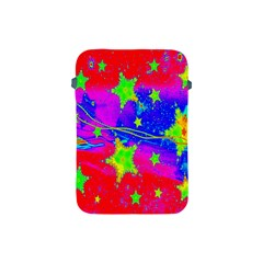 Red Background With A Stars Apple Ipad Mini Protective Soft Cases by Amaryn4rt