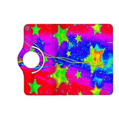 Red Background With A Stars Kindle Fire Hd (2013) Flip 360 Case by Amaryn4rt