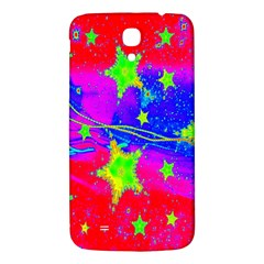Red Background With A Stars Samsung Galaxy Mega I9200 Hardshell Back Case by Amaryn4rt