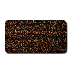 Colorful And Glowing Pixelated Pattern Medium Bar Mats by Amaryn4rt