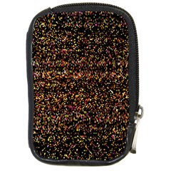 Colorful And Glowing Pixelated Pattern Compact Camera Cases by Amaryn4rt