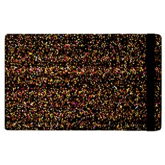 Colorful And Glowing Pixelated Pattern Apple Ipad 3/4 Flip Case by Amaryn4rt