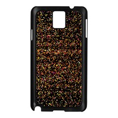 Colorful And Glowing Pixelated Pattern Samsung Galaxy Note 3 N9005 Case (black) by Amaryn4rt