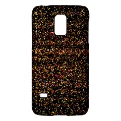 Colorful And Glowing Pixelated Pattern Galaxy S5 Mini by Amaryn4rt