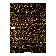 Colorful And Glowing Pixelated Pattern Samsung Galaxy Tab S (10 5 ) Hardshell Case  by Amaryn4rt