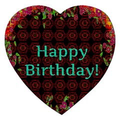 Happy Birthday To You! Jigsaw Puzzle (heart) by Amaryn4rt